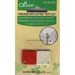 """Clover Threader with Cutter """"petit Cut"""". 478"""