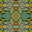 Tapestry Blue/Multi 202171154