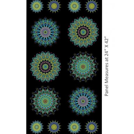 Super kaleider panel  Blue Multi 202171054