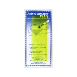 Add-A-Quarter Plus 1/4 inch lengte 6 inch