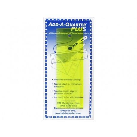 Add-A-Quarter Plus 1/4 inch lengte 6 inch