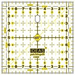 vierkant 15 bij 15 cm C3858