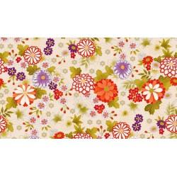 Kimono Chrysantheum cream 2042 Q