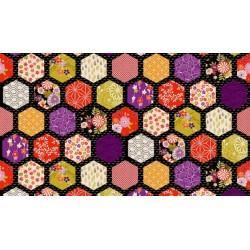 Kimono Hexagon Black 2049 X