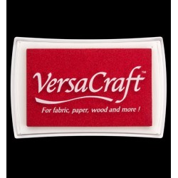 Versacraft stempelkussen Poppy Red