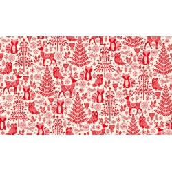 Scandy Forest Animals red 2125/R