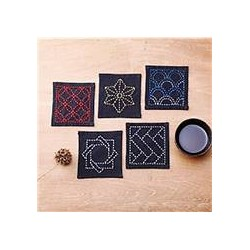 Sashiko Coaster collectie TC-1