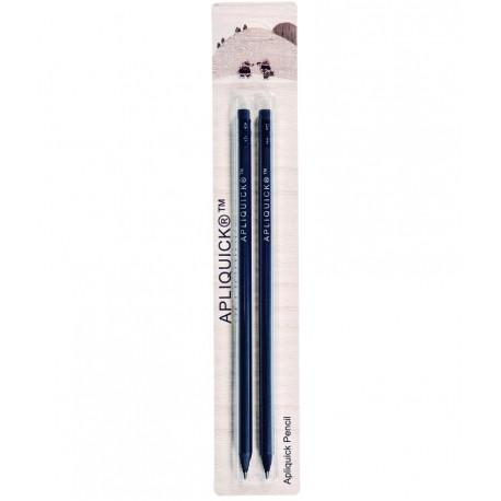 Zachte zwarte potloden 2 stuks