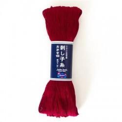Sashiko garen rood kleur 104  100 meter