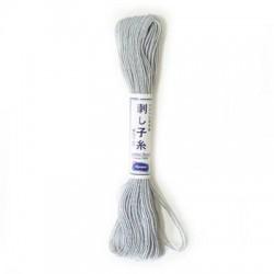 Sashiko garen grijs kleur 28 20 meter